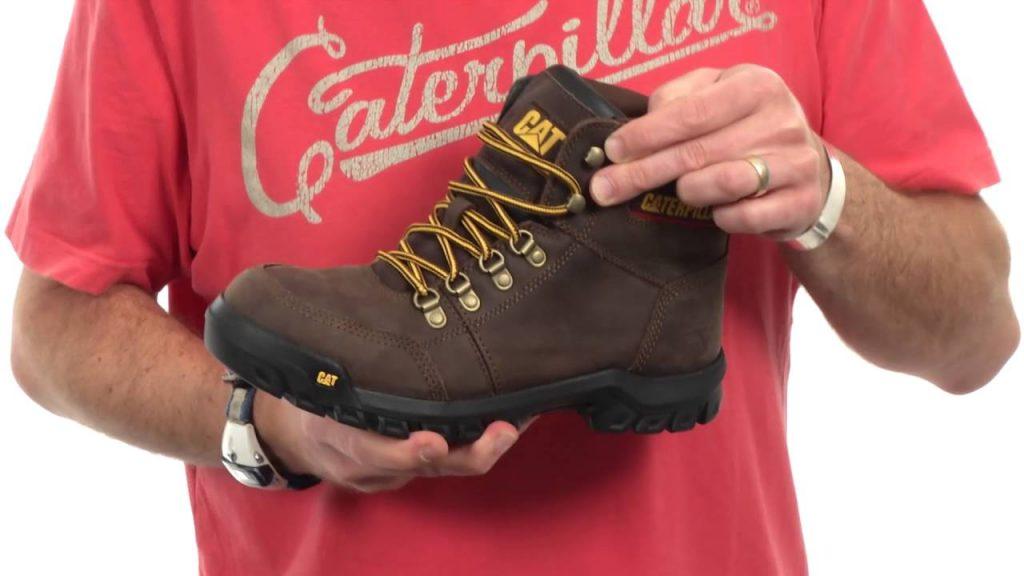 Mẫu giày bảo hộ Caterpillar Outline Steel Toe Work Boot