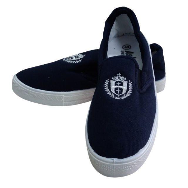 Giày lười Asia xanh